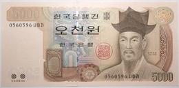 Corée Du Sud - 5000 Won - 2002 - PICK 51 - NEUF - Corée Du Sud