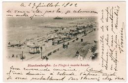 Blankenberge, Blankenberghe, La Plage A Marée Haute (pk63492) - Blankenberge
