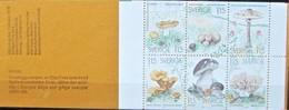 Sweden  Sverige   1978  Mushrooms   Pilze   Booklet  MNH - Funghi
