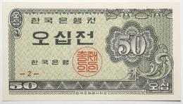 Corée Du Sud - 50 Jeon - 1962 - PICK 29a - NEUF - Corée Du Sud