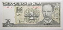 Cuba - 1 Peso - 2003 - PICK 121c - NEUF - Cuba