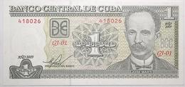 Cuba - 1 Peso - 2009 - PICK 128f - NEUF - Cuba