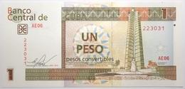Cuba - 1 Peso Convertible - 2013 - PICK FX46d - NEUF - Cuba