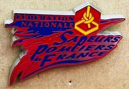 FEDERATION NATIONAL DES SAPEURS POMPIERS DE FRANCE - SERVICE DU FEU - EGF  -                      (23) - Bomberos