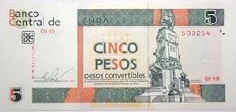 Cuba - 5 Pesos Convertibles - 2013 - PICK FX48 - NEUF - Cuba