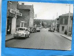 La GAVOTTE--gros Plan Animé-autos-4 Cv RENAULT+ Quartier Monaco-BAR MONACO-a  Voyagé En 1960 - Otros Municipios