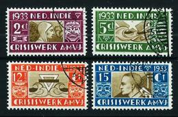 India (Holandesa) Nº 171/4 Usado Cat.6,50€ - Netherlands Indies