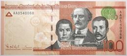 Dominicaine (Rép.) - 100 Pesos - 2014 - PICK 190a - NEUF - Dominicaine