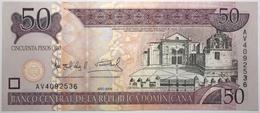 Dominicaine (Rép.) - 50 Pesos Oro - 2006 - PICK 176a - NEUF - Dominicaine