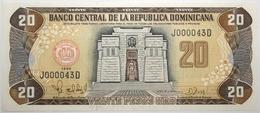 Dominicaine (Rép.) - 20 Pesos Oro - 1998 - PICK 154b - NEUF - Dominicaine