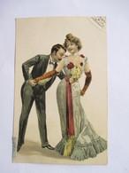 JEUNE  COUPLE  -  LE  BAISER  ...   TTB - Couples