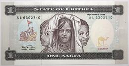 Érythrée - 1 Nakfa - 1997 - PICK 1 - NEUF - Erythrée