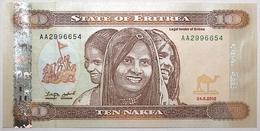 Érythrée - 10 Nakfa - 2012 - PICK 12a - NEUF - Erythrée