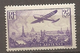 PA  Yv. N° 10   *  2f25   Violet    Cote  24 Euro  BE   2 Scans - Airmail
