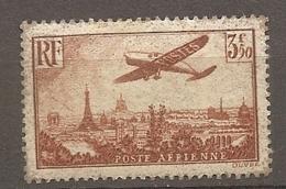 PA  Yv. N° 13   *  3f50   Brun-jaune    Cote  75 Euro  BE R  2 Scans - Airmail