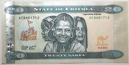 Érythrée - 20 Nakfa - 2012 - PICK 13a - NEUF - Eritrea