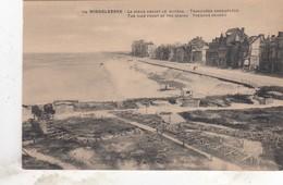 MIDDELKERKE  /  OORLOG 1914-18 / ZEEDIJK MET GECAMOUFLEERDE LOOPGRAVEN - Middelkerke
