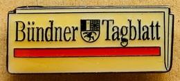 JOURNAL - ZEITUNG - NEWSPAPER - BÜNDNER TAGBLATT - CANTON DES GRISONS - SUISSE - SWISS - SCHWEIZ  - (23) - Medios De Comunicación