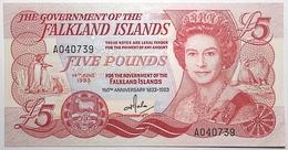 Falkland - 5 Pounds - 1983 - PICK 12a - NEUF - Islas Malvinas