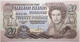 Falkland - 20 Pounds - 1984 - PICK 15a - NEUF - Islas Malvinas