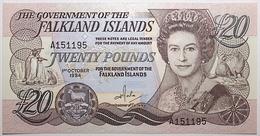 Falkland - 20 Pounds - 1984 - PICK 15a - NEUF - Falkland Islands