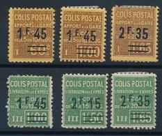 """DG-8: FRANCE: Lot """"COLIS POSTAUX"""" Avec N°88*-88A*-90*-92/94* - Neufs"""