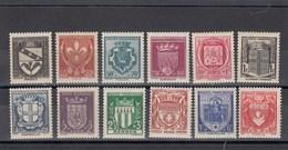 France - 1941 - N° YT 526/37**** - Armoiries De Ville - Francia