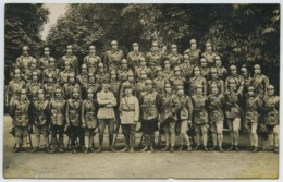 Carte Photo De Groupe . Artillerie . 503e Régiment De Chars De Combat . 1922 . - Reggimenti