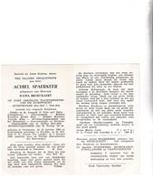 RIJKSWACHTER  A.SPAERKEER °OVERMEIRE 1890 +KNOKKE 1962 (J.BROECKAERT) - Images Religieuses