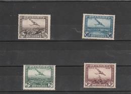 Belgique - Poste Aerienne - Petite Série De 1930 - Scan Recto-verso - Luftpost