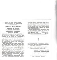 RIJKSWACHTER  A.VOLCKAERT °BEERNEM 1884 +KNOKKE 1960 (V.MOEYAERT) - Images Religieuses