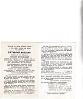 RIJKSWACHTER R.BOELENS °KAPRIJKE 1891 +KNOKKE AAN ZEE 1961 (R.KNOCKAERT) - Images Religieuses