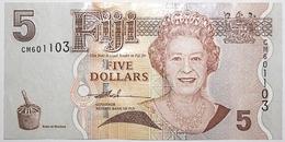Fidji - 5 Dollars - 2007 - PICK 110a - NEUF - Fidji