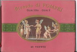 Ricordo Di POMPEI Qual'era - Qual'e 40 Vedute Serie N.248 IT-FR-ANG-ALL Mémoires De Pompéi Histoire Italie *PRIX FIXE - Livres, BD, Revues