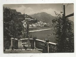 Cp, ITALIE ,AMALFI ,panorama Dall' Albergo S. Caterina , Voyagée - Salerno