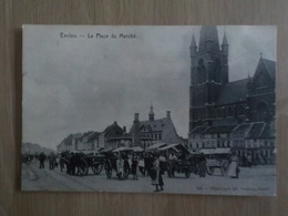 1909 CP Eecloo Eeklo La Place Du Marché N° 406 - Eeklo