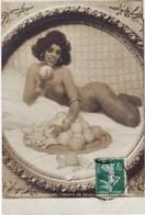 L. ALLEAUME - Fruits De Soleil - FEMME, NUE, SEXY, SALON DE PARIS 1909 - CPA Bon Etat (voir Scan) - Peintures & Tableaux
