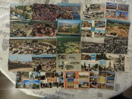 LOT DE   36  CARTES   POSTALES   DE  LA  SEINE  ET  MARNE - 5 - 99 Cartes