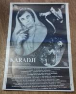 Affiche De Spectacle Du Fakir KARADJI - Vieux Papiers