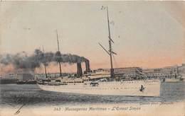 Bateau - Paquebot - Messageries Maritimes - L'Ernest Simon - Piroscafi