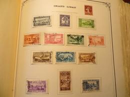 GRAND LIBAN LOT Oblitérés Quelques Oblitérations Intéressantes - Great Lebanon (1924-1945)