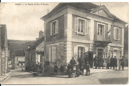 IRANCY. LA MAIRIE ET RUE SAINT MARTIN - Frankreich