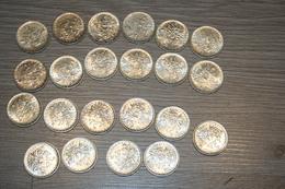 Lot De 22 Pièces De 5 Francs Semeuse - J. 5 Francs