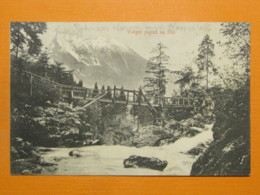 #53008, Slovenia, Vintgar Gorge, Stol, Used 1907 - Slovenia