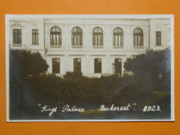 #55966, Romania, Bukarest, Royal Palace, 1923 - Rumänien