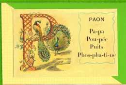 BUVARD & Blotting Paper : P Paon   Beau Graphisme - Animaux