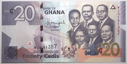 Ghana - 20 Cedis - 2015 - PICK 40f - NEUF - Ghana