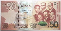 Ghana - 50 Cedis - 2015 - PICK 42c - NEUF - Ghana