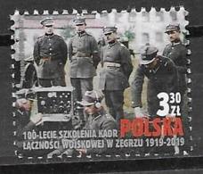 POLAND, 2019, MNH, MILITARY, MILITARY COMMUNICATIONS, TRAINING MILITARY COMMUNICATIONS PERSONNEL IN ZEGRZE,1v - Militaria