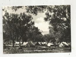 Cp, ITALIE , PALINURO , Villaggio Del CLUB MEDITERRANEE ,  écrite 1956 - Salerno